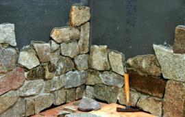 Kamenný obklad z přírodního kamene v interiéru