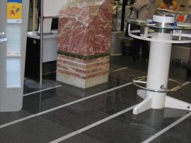 Leštěný kámen v interiéru
