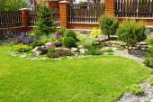 Okrasná zahrada - rovinatá plocha