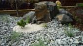 Výzdoba zahrady kamením