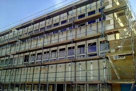 Administrativní budova před zateplením
