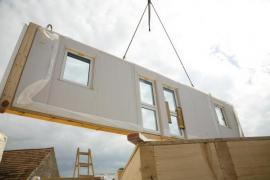 Realizace nadstavby v podobě montované dřevostavby