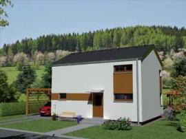 3D vizualizace domu Kubis 631