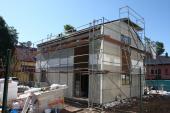 Montáž hrubé stavby domu Kubis 631