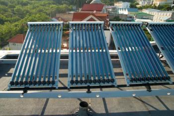 Solárně termické vakuové kolektory