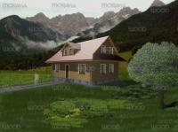 Roubená chata Dřevěnice