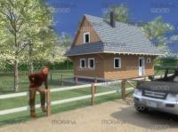 Roubená chata Matěj