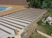 Montáž dřevoplastových terasových prken