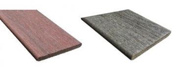 Různé odstíny dřevoplastových plotovek