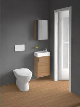 Koupelnový nábytek Jika Cube pro velmi omezený prostor