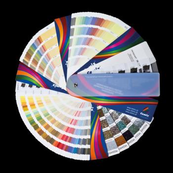 Vzorník barevných odstínů Cemix