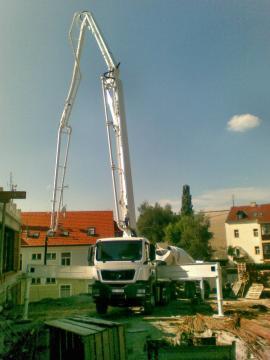 Doprava a ukládání betonu