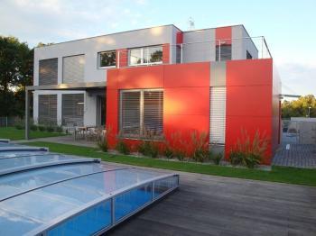 Odvětraná fasáda rodinného domu v Praze, Projekční kancelář Ing. Arch. Martin Bláha
