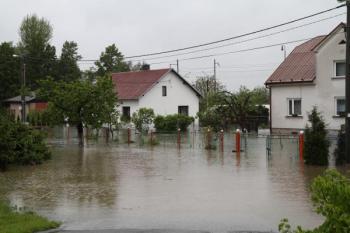 Zaplavené domy