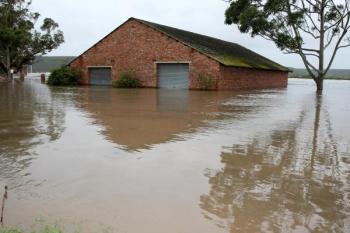 Zaplavená budova