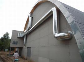 Dodávka a montáž klimatizace a vzduchotechniky