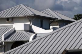Plechová střecha - falcovaný plech