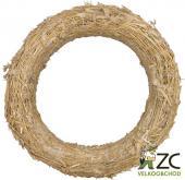 Kroužek slaměný - základ pro výrobu věnců