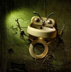 Koupelna noční můrou