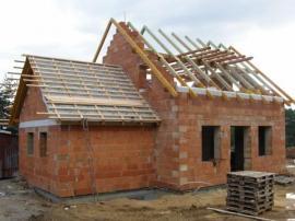 Konstrukce nového krovu