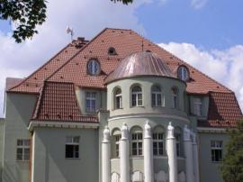 Střecha na historické budově