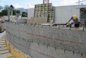 Výstavba CAMPUS LODGE ve Vídni