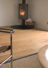 Dřevěná masivní podlaha FEEL WOOD – Dub Natural přírodní olej