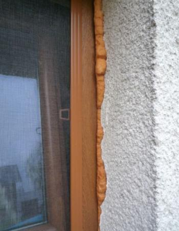 Nekvalitně namontovaná okna