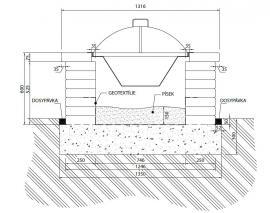 Jednoduchá konstrukce zahradního ohniště CSB – NATURBLOK