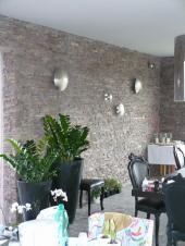 Kamenný obklad stěny