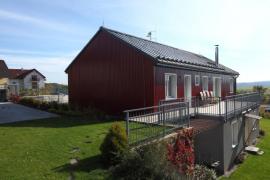 Domek v Klínci z materiálů Lindab