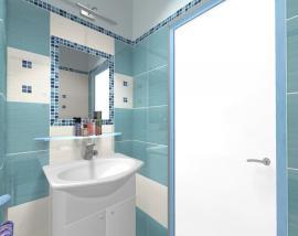 Vizualizace nové koupelny