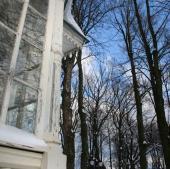 Stará okna dřevostavby