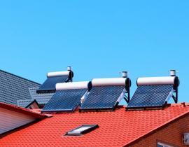 Trubicové solárně termické kolektory