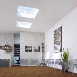 Okno FAKRO pro ploché střechy