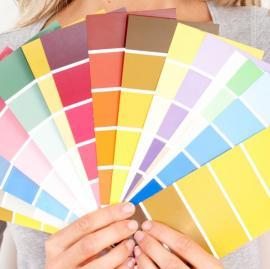 Výběr odstínů barev