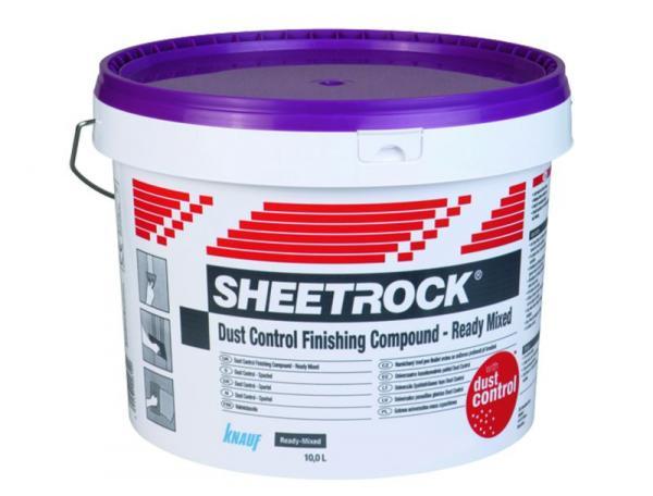 Sheetrock® dust control