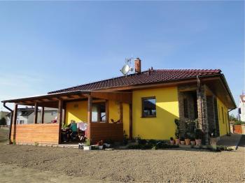 Typový nízkoenergetický dům postavený společností Ekonomické stavby