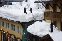 Sněhová kalamita na střechách
