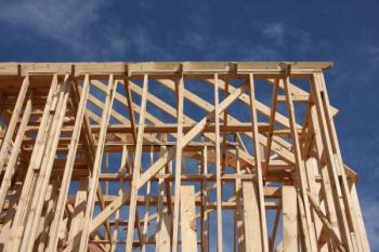 Rámová konstrukce dřevostavby
