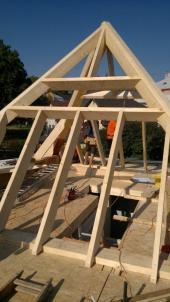 Výstavba pyramidového domu