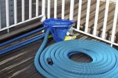 Uskladníme odmontované součásti bazénu