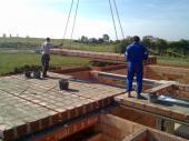 Ukládání stropního panelu
