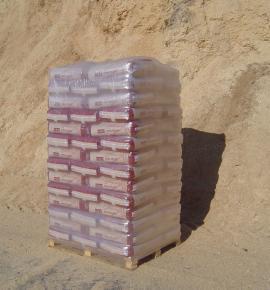Výrobky - pytlované pelety