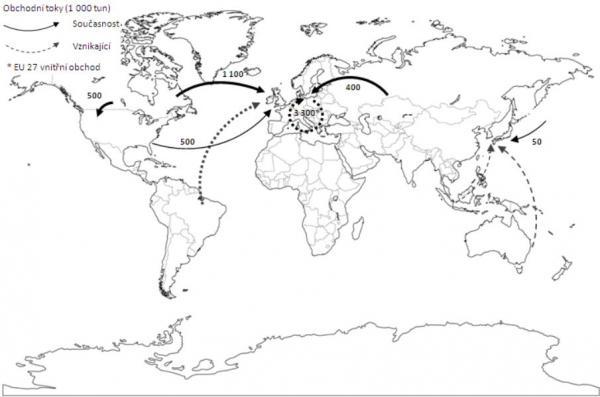 Mezinárodní obchod s peletami