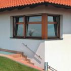 Dřevěná Eurookna Komfort Plus