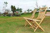 Bambusový zahradní nábytek