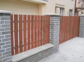 Dřevoplastový plotový profil