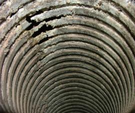 Koroze komínové vložky na plyn