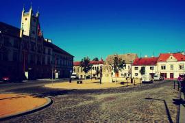 Nominovaná stavba - Revitalizace městského jádra ve Mšeně
